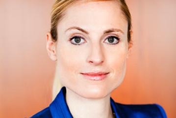 Marie-Christine Ostermann spricht im Denkwerk